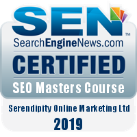 SearchEngineNews SEO certification 2019