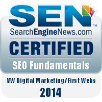 SearchEngineNews.com Certification Badge