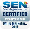 Wordpress SEO Certified - Whizz Marketing 2015